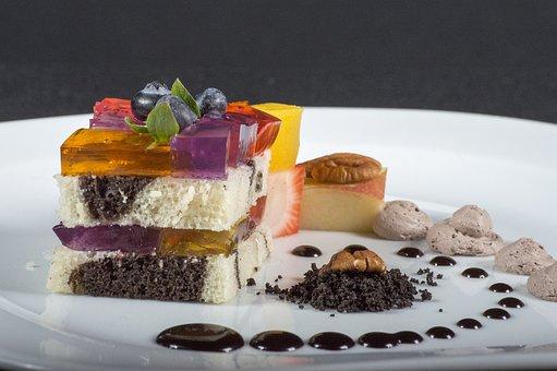 Dessert, Strawberries, Food, Fruit, Cake, Chocolate