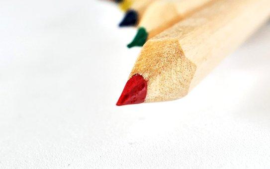 Colored Pencil, Paint, Draw, Pens, Colour Pencils