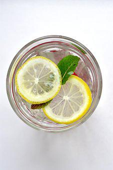 Drink, Summer, Lemon, Mint, Fresh, Water