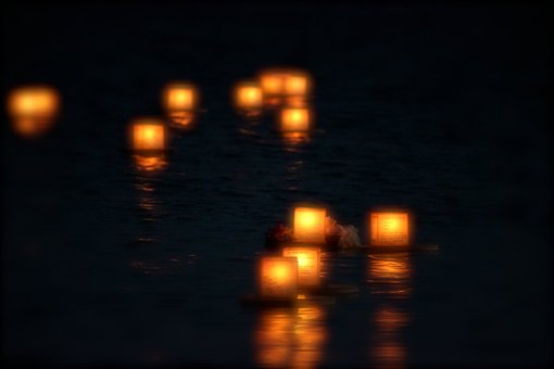 Lantern, Float, Festival, Light, Fire, Traditional