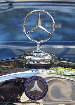 Mercedes Star, Mercedes Benz, O, Convertible, Cooler