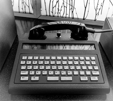 Modem, Telephone, Keyboard, Computer, Technology