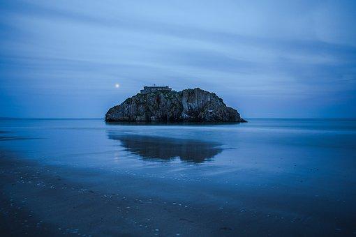 An Island, Ocean, Month, Coast, England, Wales