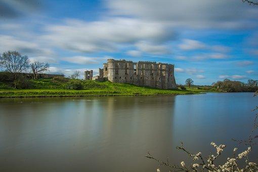 Castle, The Ancient Building, Monument, Wales, England