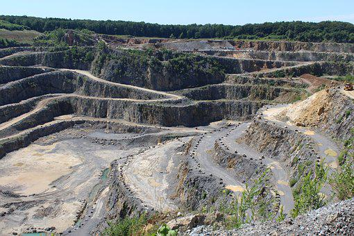 Quarry, Open Pit Mining, Removal, Open Quarry
