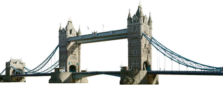 Tower Bridge, Isolated, London, Places Of Interest