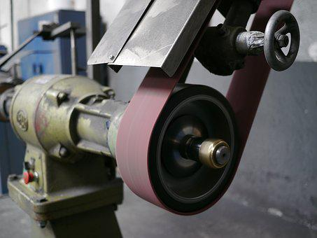 Machinery, Polished, Sander