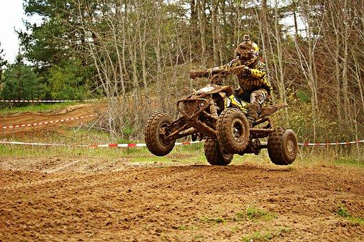 Motocross, Enduro, Quad, Atv, Motorcycle, Race