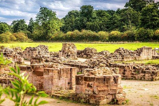 Bordesley Abbey, Ruins, Ancient, Midlands, Redditch