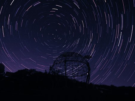 Long Exposure, Night, Night Photography, Starry Sky
