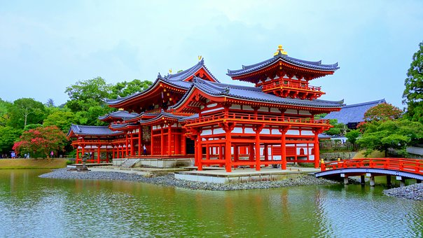 Kyoto, It, Byodoin Temple, Temples And Shrines, Phoenix