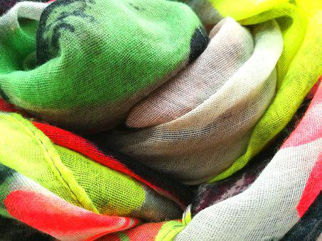 Colorful, Scarf, Texture, Background