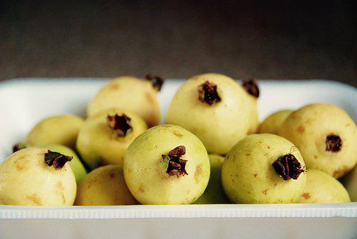 Guava, Fruit, Many, Bunch, Yellow, Tropical, Exotic