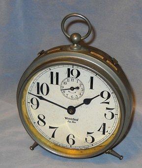 Alarm Clock, Big Ben, Vintage, Antique, Alarm, Time