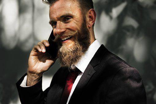 Beard, Business, Business People, Businessman