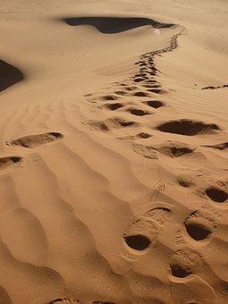 Algeria, Desert, Traces