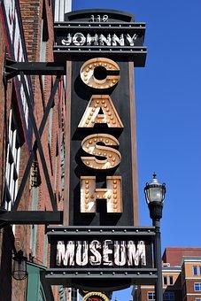 Johnny Cash, Museum, Entertainer, Singer, Sign