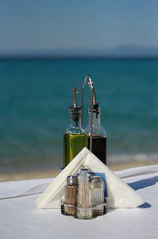 Summer, Holiday, Blue, Sea, Greece, Pepper-and-salt