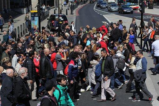 London, Pedestrian Crossing, Crossing