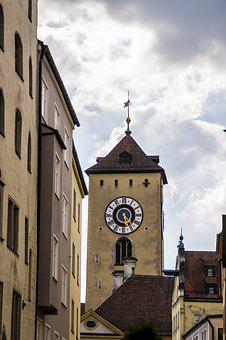 City Tower, Tower, Middle Ages, Places Of Interest
