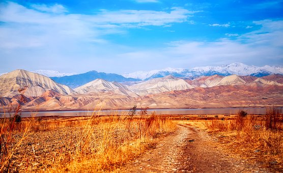 Kyrgyzstan, Landscape, Mountains, Nature, Outdoors