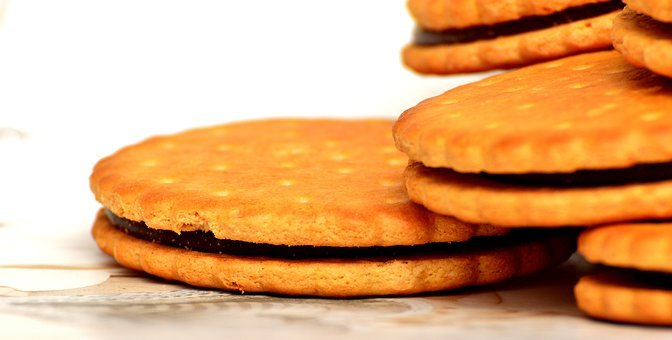 Cookies, Double Cookie, Delicious, Chocolate, Nibble