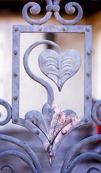 Wrought Iron, Art, Ornament, Nostalgia, Metal