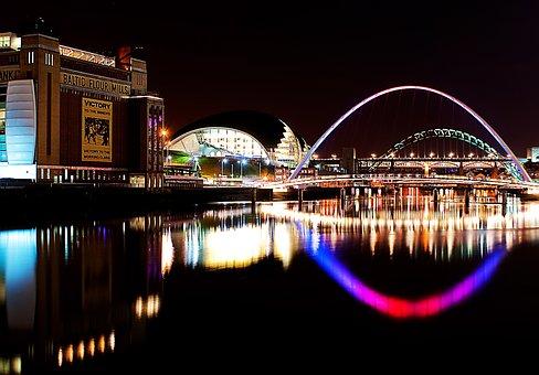 River, Newcastle Upon Tyne, Newcastle, Tyne, Bridge