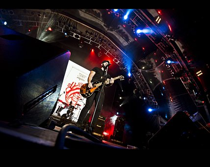 Rock Concert, Singer, Lead Singer, Band, Guitar Player