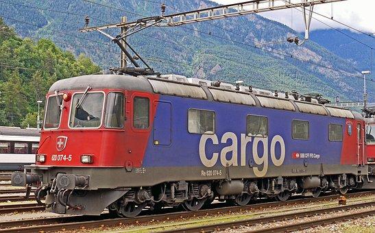 Switzerland, Electric Locomotive, Force Ostentatious