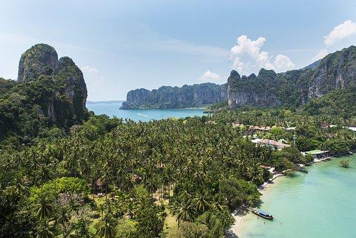 Railay Bay, Krabi Thailand, Thai, Thailand, Travel