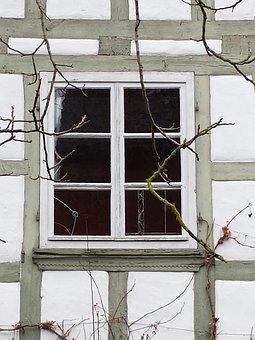 Farmhouse, Window, Truss
