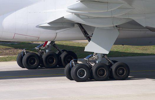 Boeing 777, Chassis, Aircraft, Landing, Close, Aviation