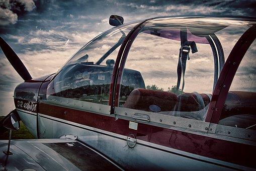 Aircraft, Cockpit, Fly, Instruments, Aviation