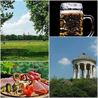 English Garden, Munich, State Capital, Bavaria