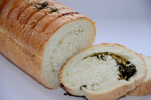 Loaf, Bread, Muffin, Food, Fresh Bread, Dill, Greens