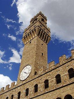 Palazzo Vecchio, Florence, Italy, Building, Arc