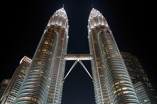 Malaysia, Skyscraper, Building, Structure, Sky, Great