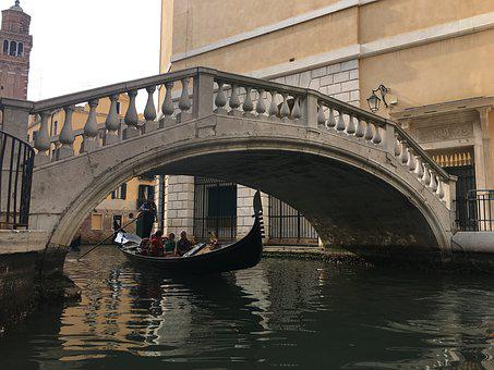 Bridge, Venezia, I, Italy, Travel, Canal, City