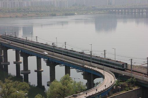Republic Of Korea, Train, Subway, Railway