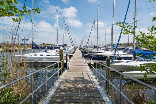 Marina, Boats, Yachts, Water, Sea, Harbor, Ocean