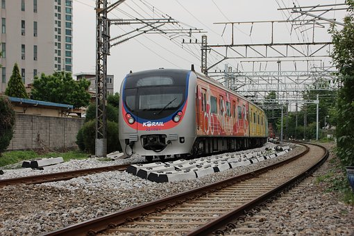 Republic Of Korea, Transportation, Railway, Train