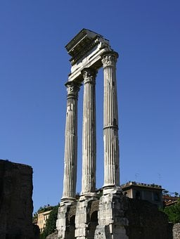 Rome, Italy, Three Virgins, Architecture, Landmark