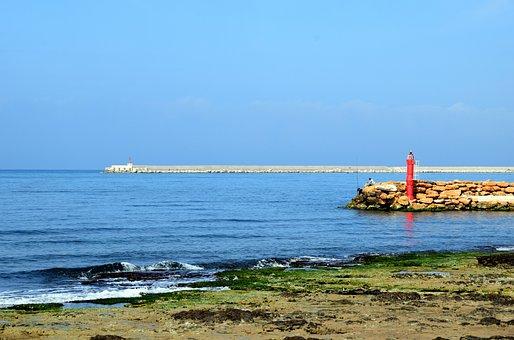 Sea, Coast, Rocky Coast, Holiday, By The Sea