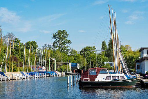 Port, Sailing Boats, Create, Water, Ship, Boats
