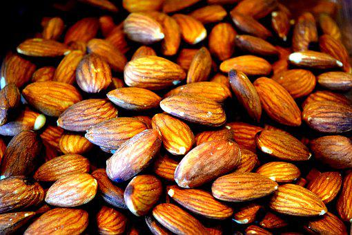 Almonds, Nuts, Food, Healthy, Snack, Organic
