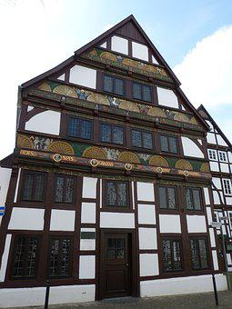 Paderborn, Lower Saxony, Old Town, Historically, Home