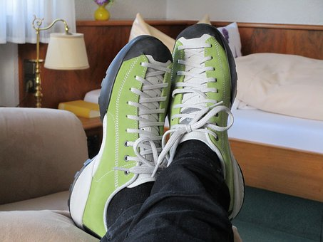 Jogging, Jogging Shoes, Relax, Rest, Striking, Sport