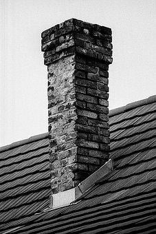 Chimney, Rural, Old, House, Sky, Roof, Home