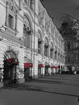 Black And White, Russia, Red, Historically, Capital